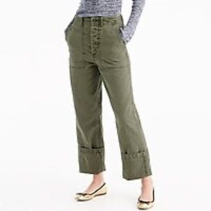 NWT J. CREW Foundry pants fatigues utility 6